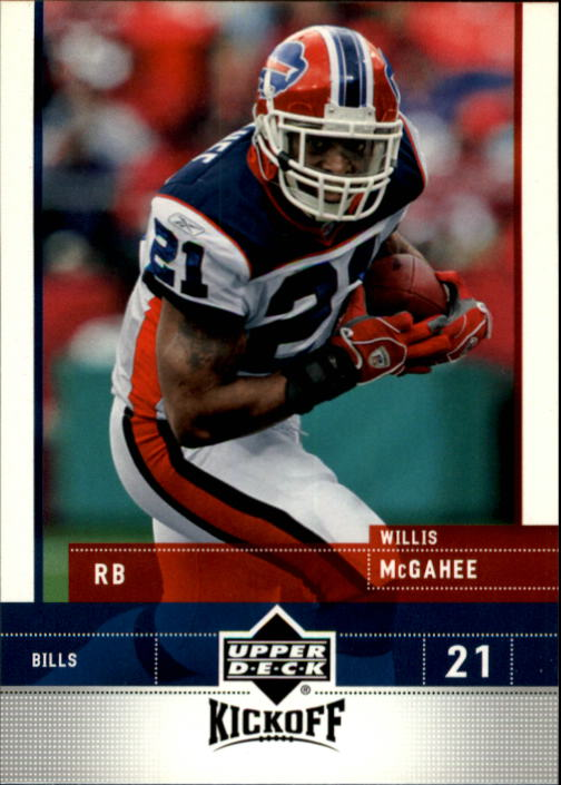2005 Upper Deck Kickoff #11 Willis McGahee