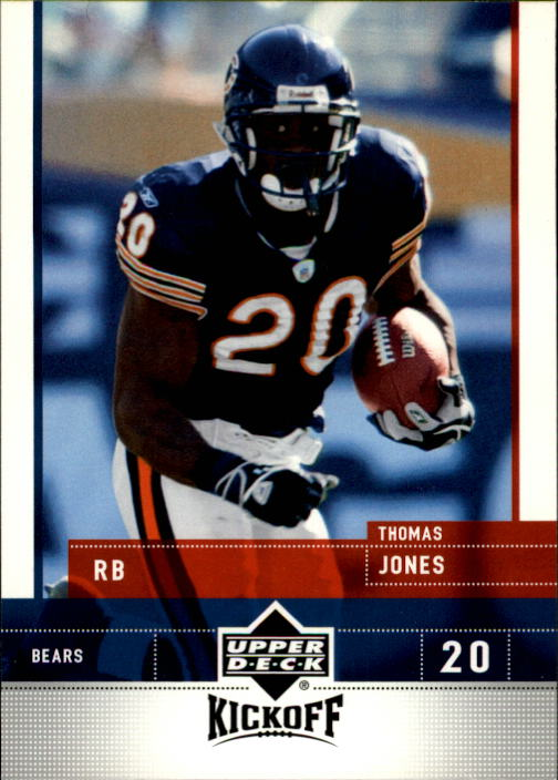 2005 Upper Deck Kickoff #16 Thomas Jones