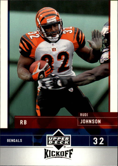 2005 Upper Deck Kickoff #20 Rudi Johnson
