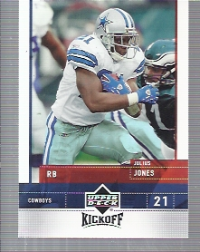 2005 Upper Deck Kickoff #22 Julius Jones