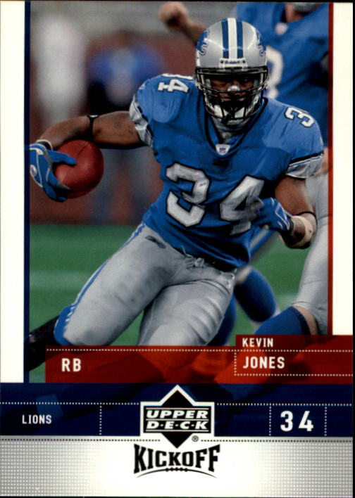 2005 Upper Deck Kickoff #29 Kevin Jones