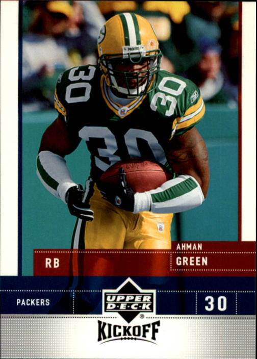 2005 Upper Deck Kickoff #32 Ahman Green