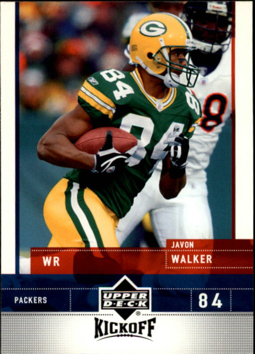 2005 Upper Deck Kickoff #33 Javon Walker