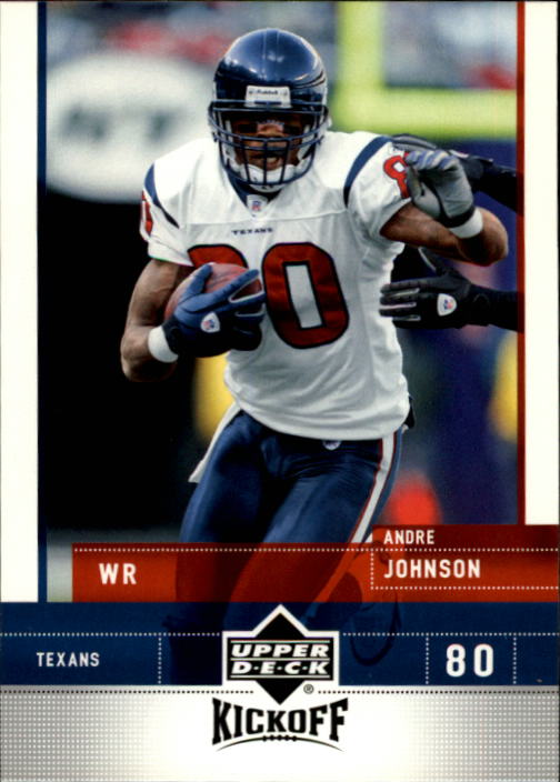 2005 Upper Deck Kickoff #35 Andre Johnson