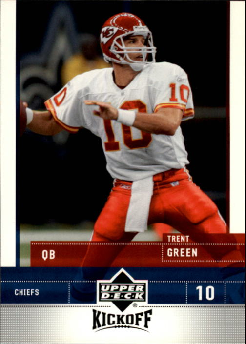 2005 Upper Deck Kickoff #45 Trent Green