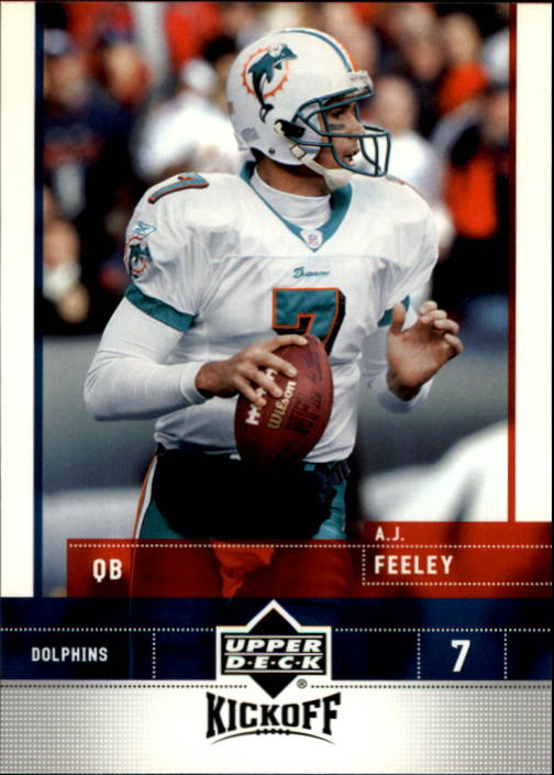 2005 Upper Deck Kickoff #46 A.J. Feeley