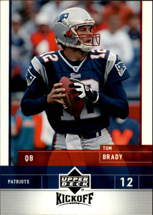 2005 Upper Deck Kickoff #52 Tom Brady