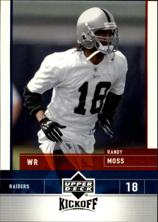 2005 Upper Deck Kickoff #65 Randy Moss