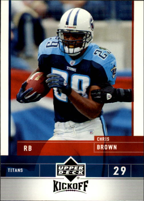 2005 Upper Deck Kickoff #87 Chris Brown