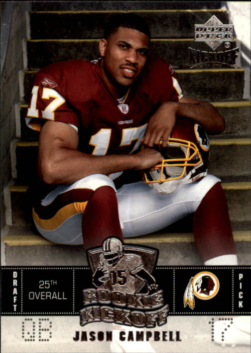2005 Upper Deck Kickoff #95 Jason Campbell RC