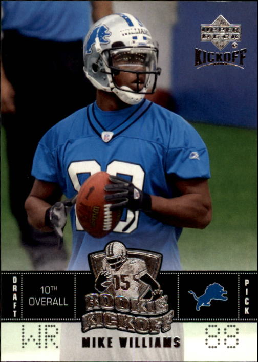 2005 Upper Deck Kickoff #105 Mike Williams