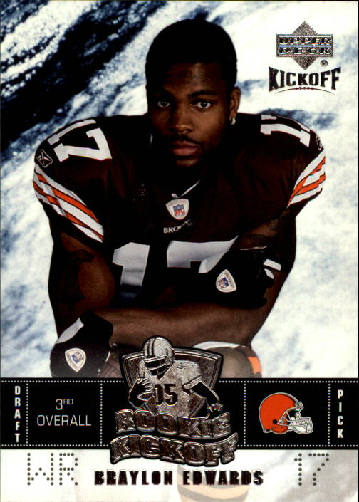 2005 Upper Deck Kickoff #106 Braylon Edwards RC