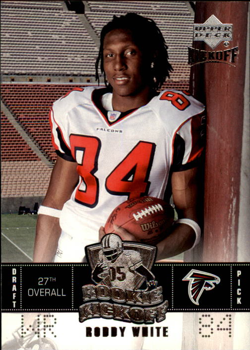 2005 Upper Deck Kickoff #110 Roddy White RC