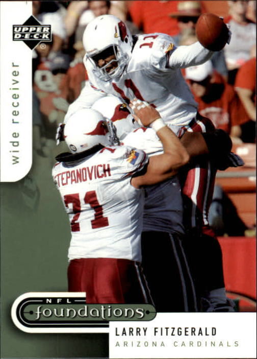 2005 Upper Deck Foundations #1 Larry Fitzgerald