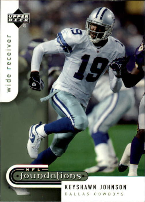 2005 Upper Deck Foundations #25 Keyshawn Johnson