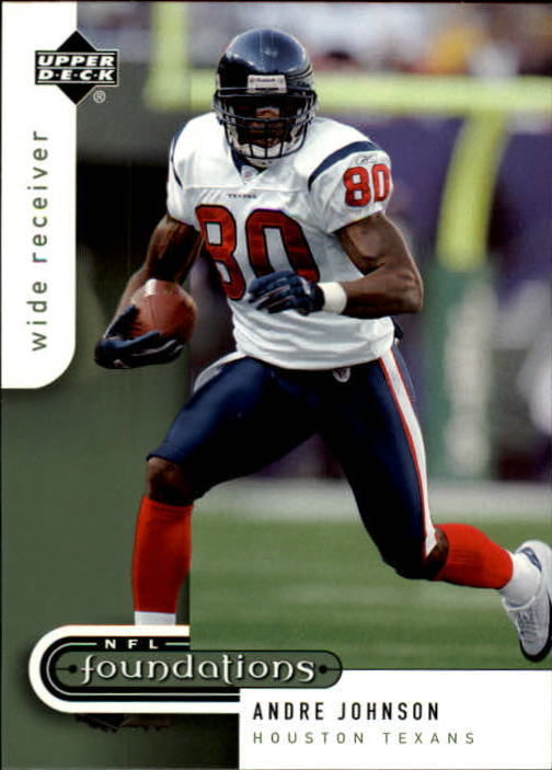 2005 Upper Deck Foundations #37 Andre Johnson