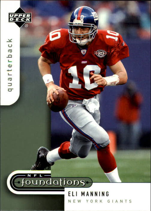 2005 Upper Deck Foundations #62 Eli Manning