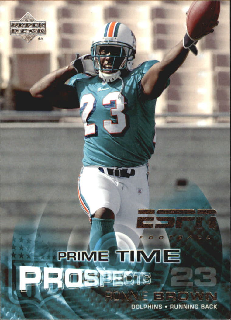 2005 Upper Deck ESPN #109 Ronnie Brown RC