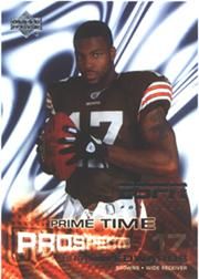 2005 Upper Deck ESPN #115 Braylon Edwards RC