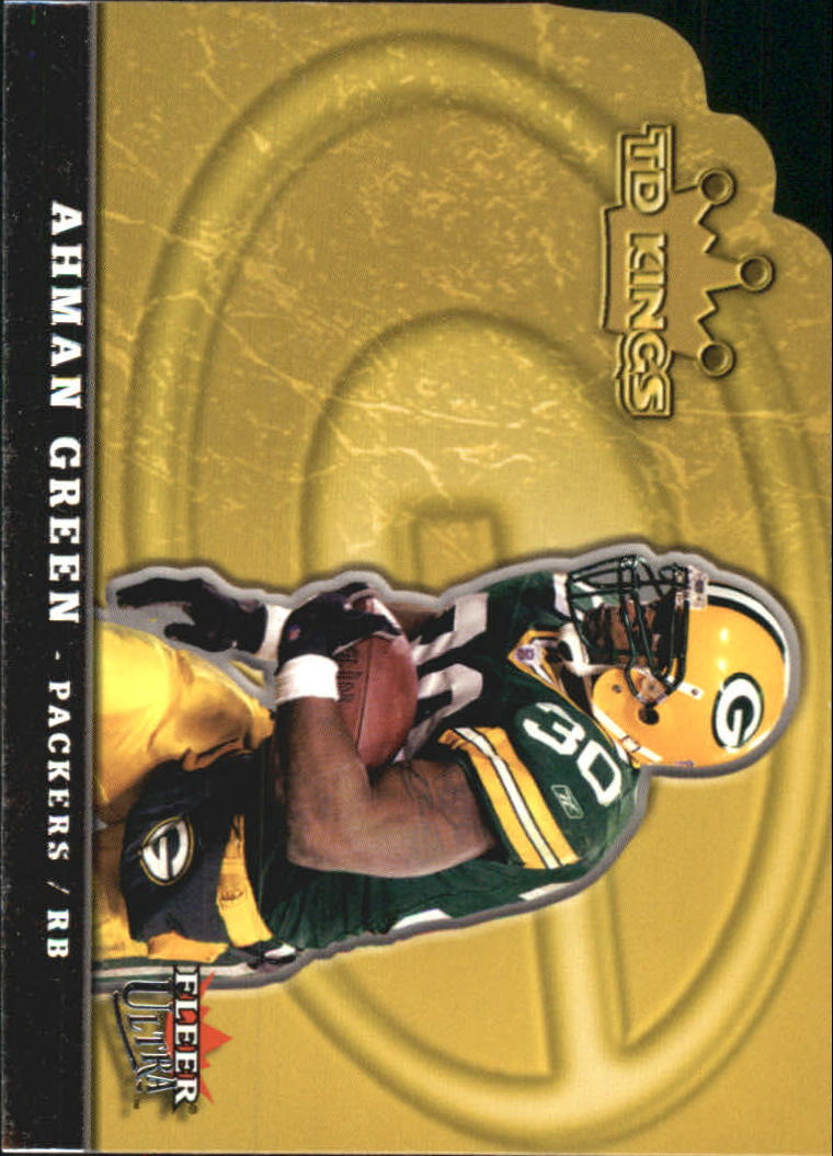 2005 Ultra TD Kings Die Cuts #4 Ahman Green