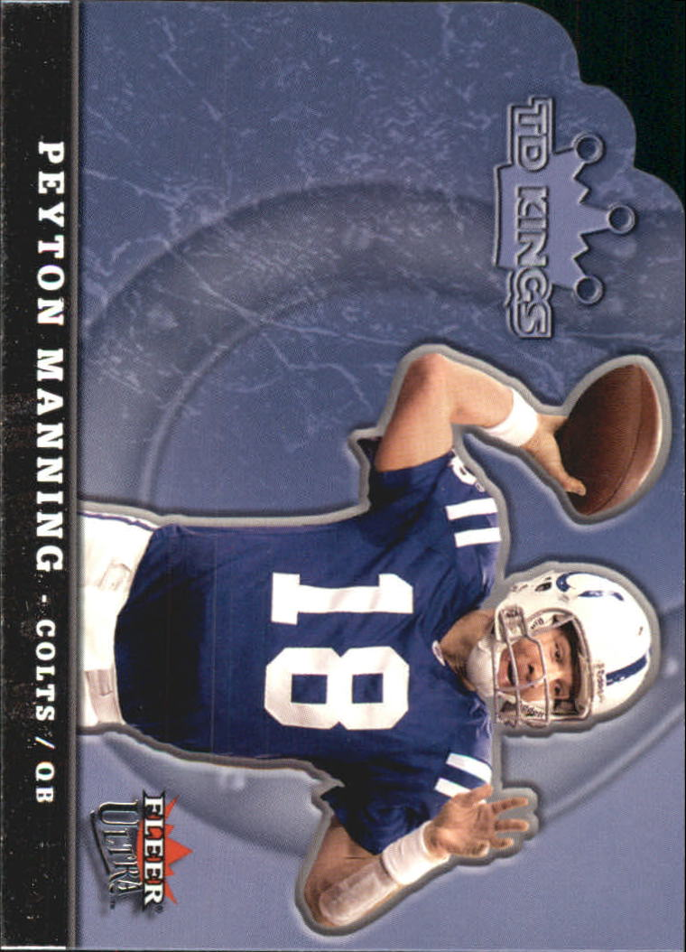 2005 Ultra TD Kings Die Cuts #8 Peyton Manning
