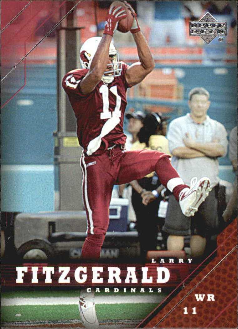 2005 Upper Deck #1 Larry Fitzgerald