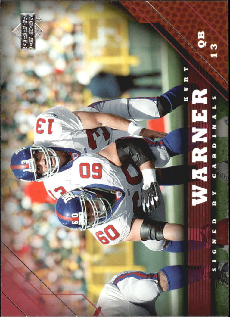 2005 Upper Deck #3 Kurt Warner