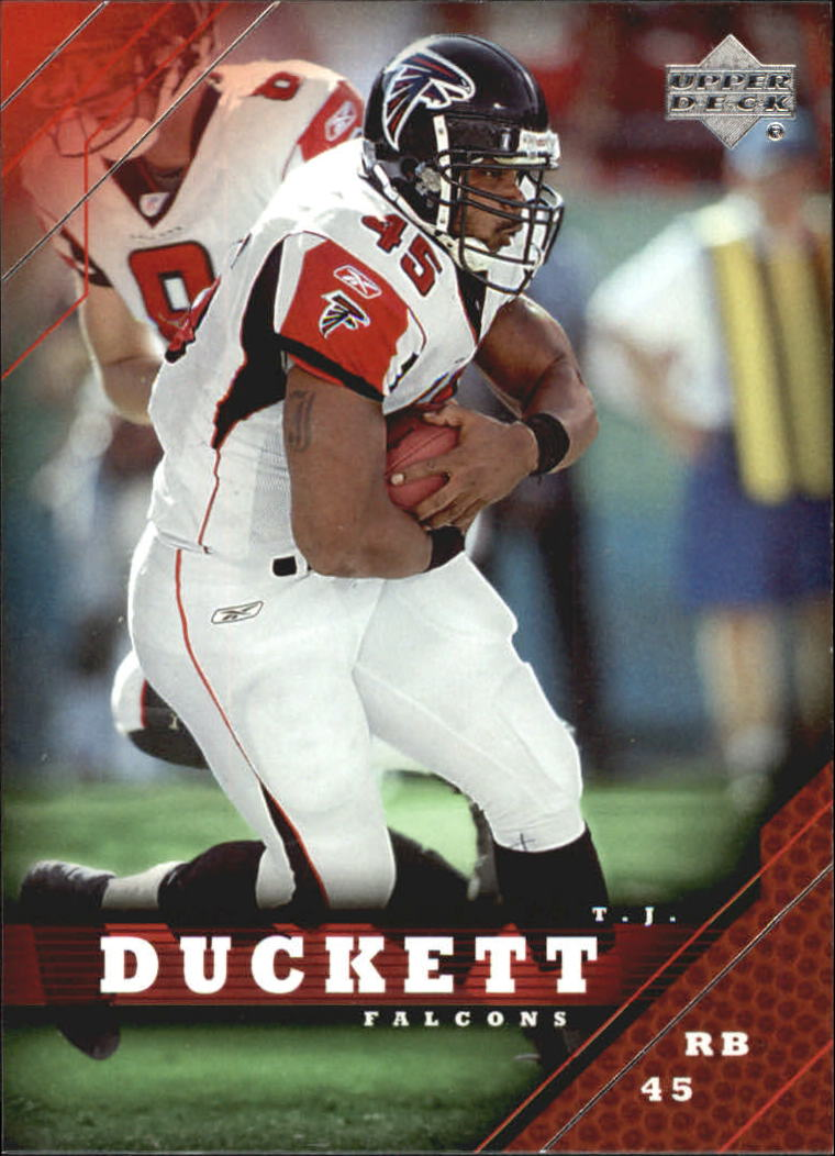 2005 Upper Deck #9 T.J. Duckett