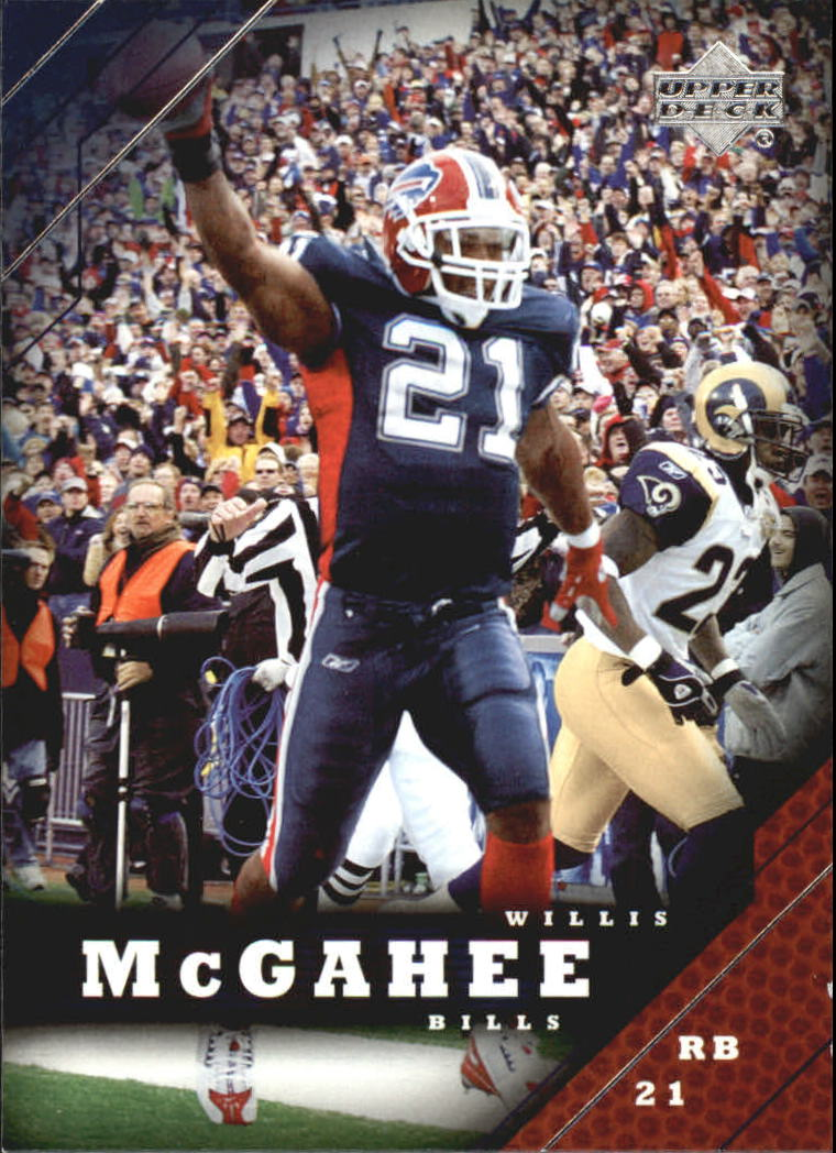 2005 Upper Deck #20 Willis McGahee