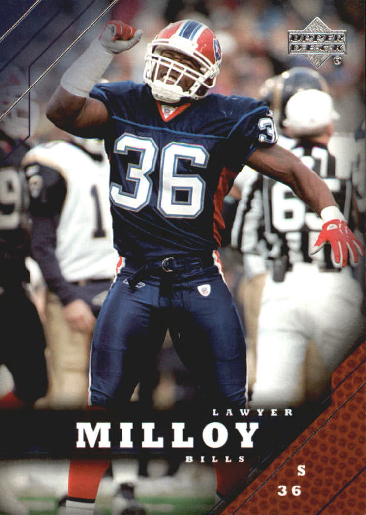 2005 Upper Deck #21 Lawyer Milloy