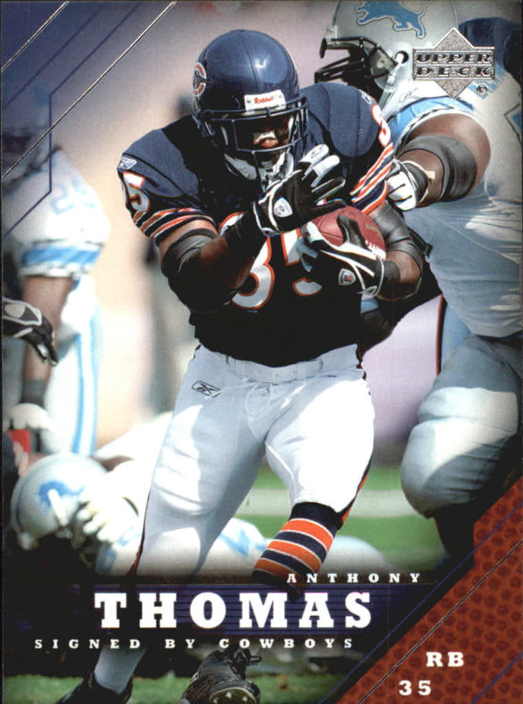 2005 Upper Deck #35 Anthony Thomas