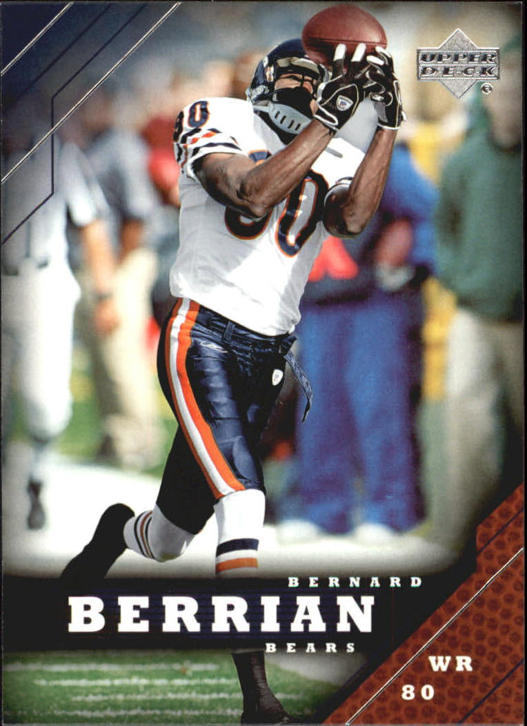 2005 Upper Deck #36 Bernard Berrian