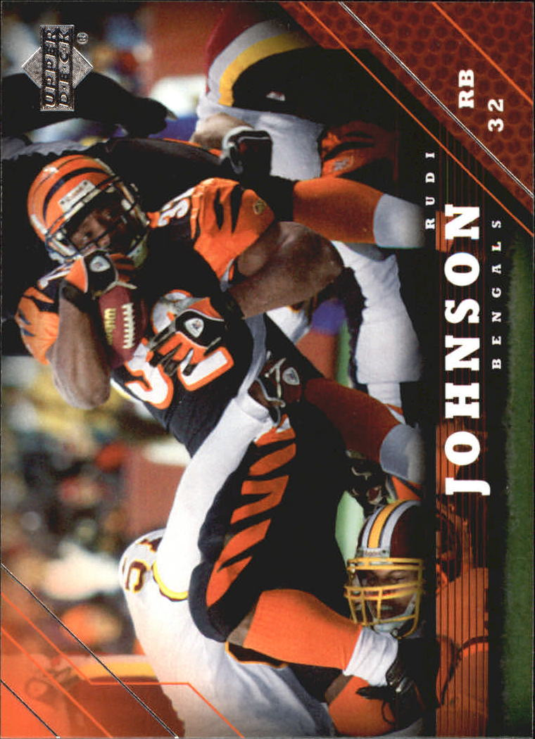 2005 Upper Deck #41 Rudi Johnson
