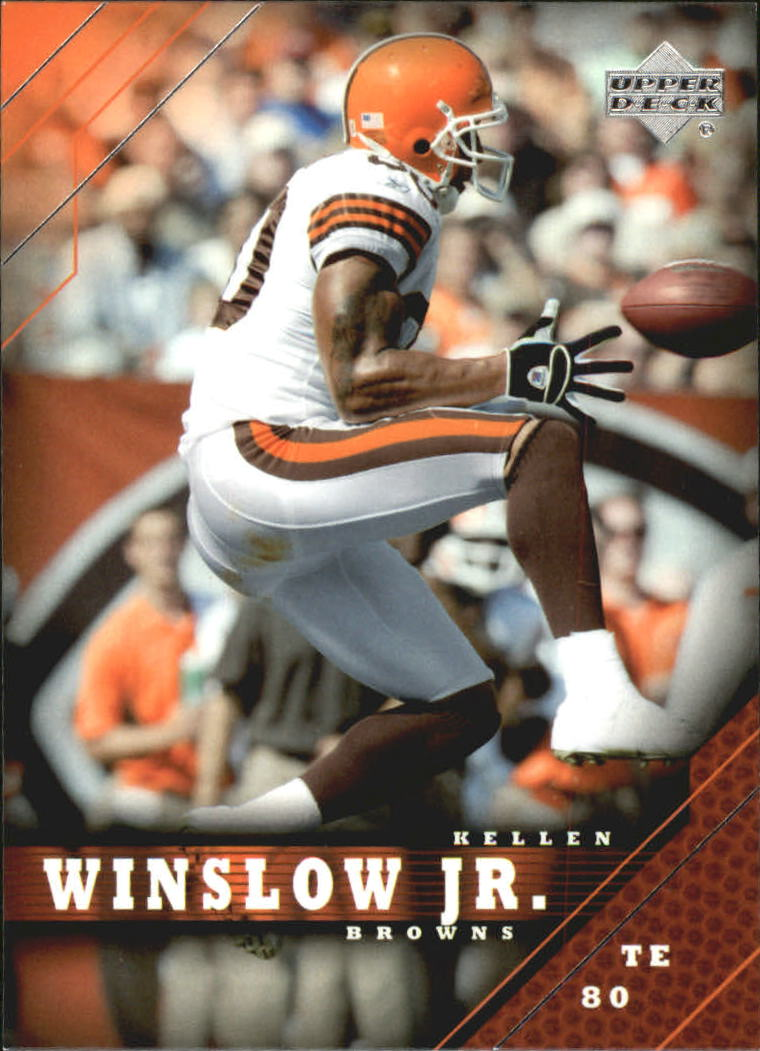 2005 Upper Deck #46 Kellen Winslow