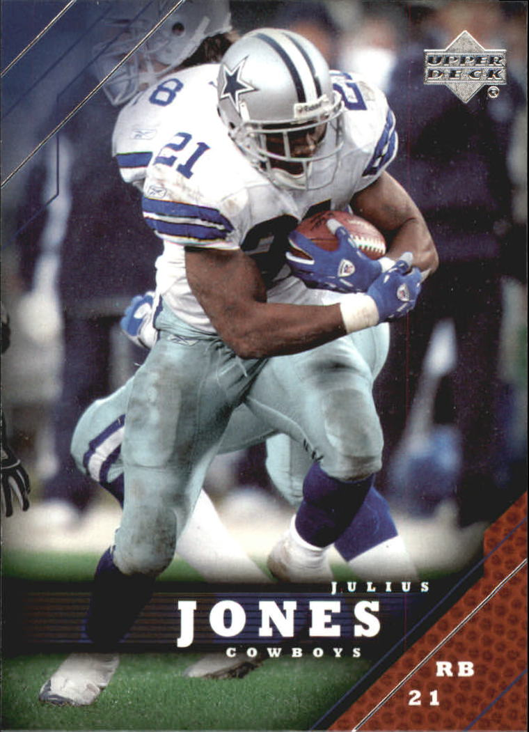 2005 Upper Deck #49 Julius Jones