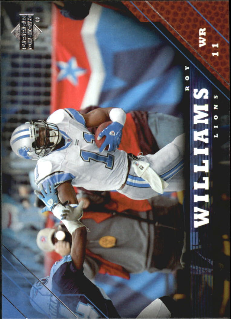 2005 Upper Deck #62 Roy Williams WR