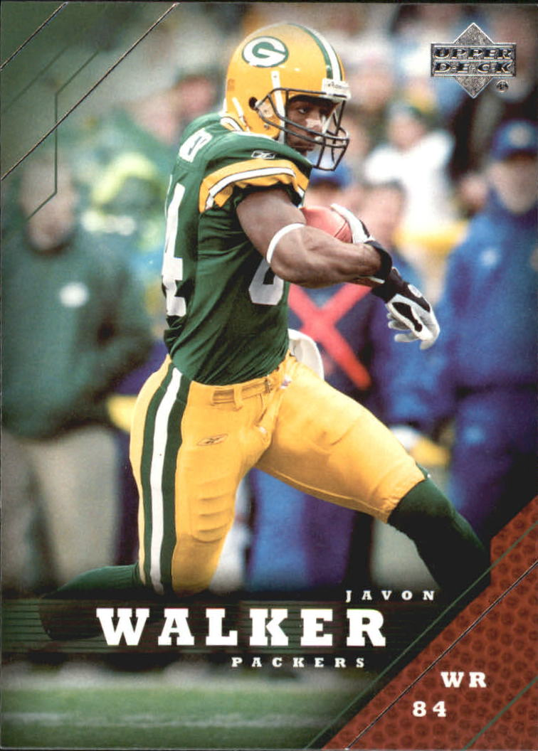 2005 Upper Deck #68 Javon Walker
