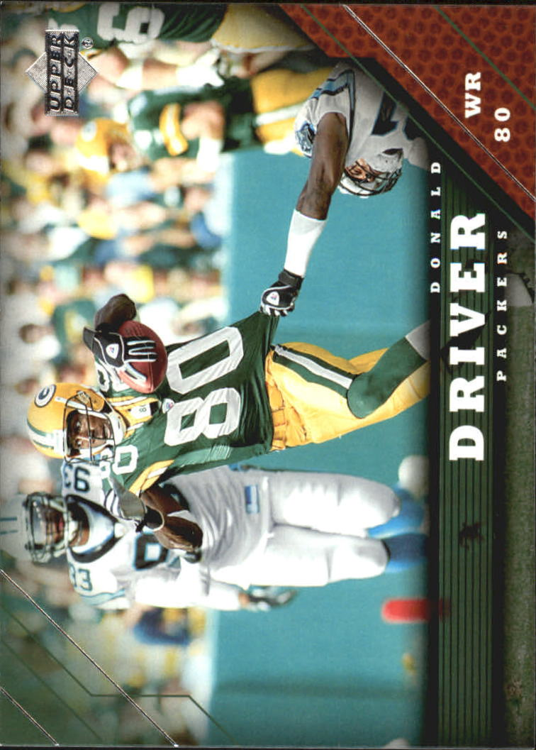 2005 Upper Deck #70 Donald Driver