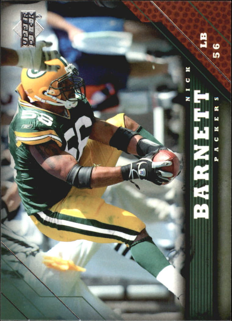 2005 Upper Deck #72 Nick Barnett