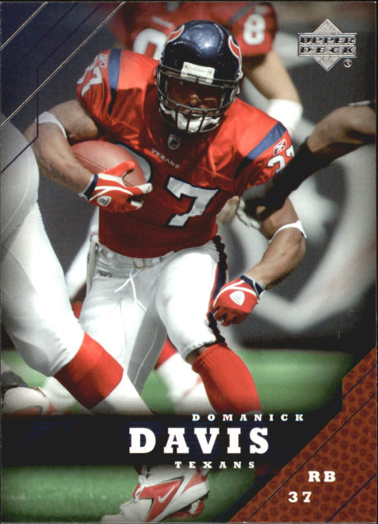 2005 Upper Deck #74 Domanick Davis