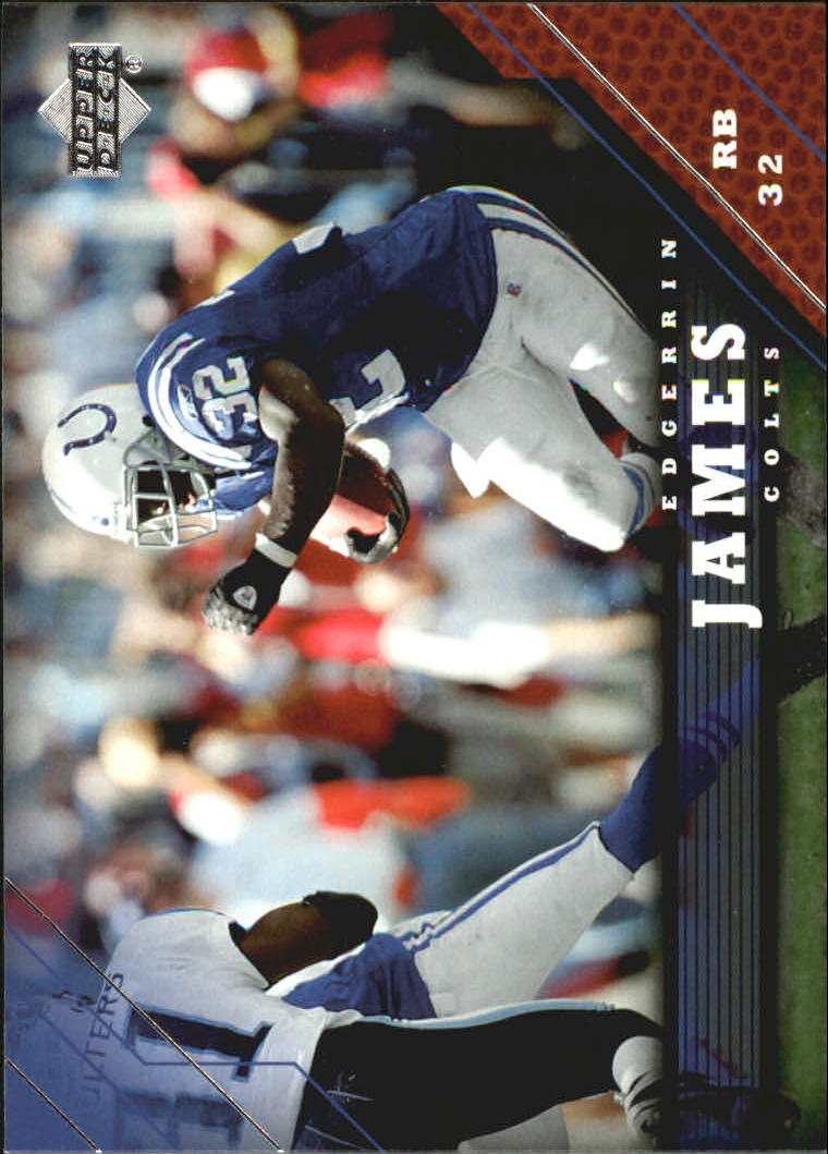 2005 Upper Deck #80 Edgerrin James
