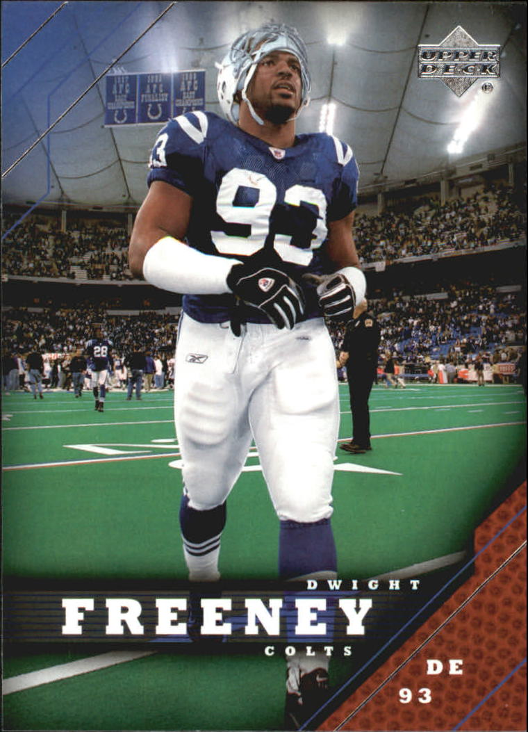 2005 Upper Deck #84 Dwight Freeney