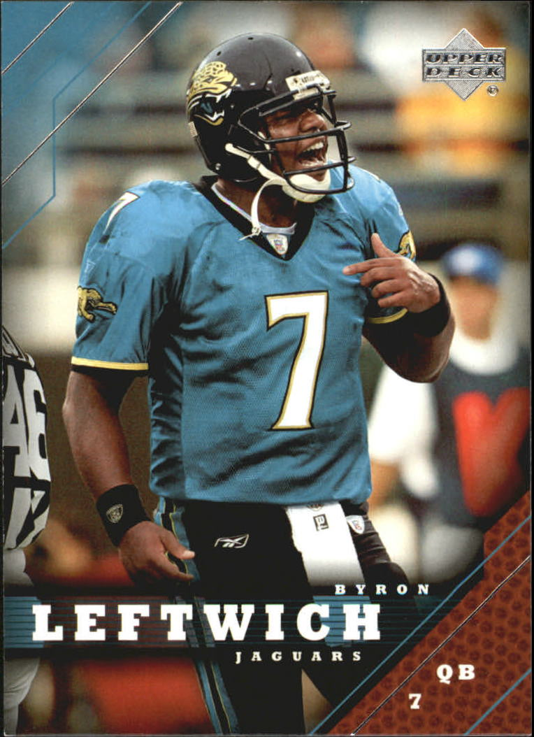 2005 Upper Deck #85 Byron Leftwich