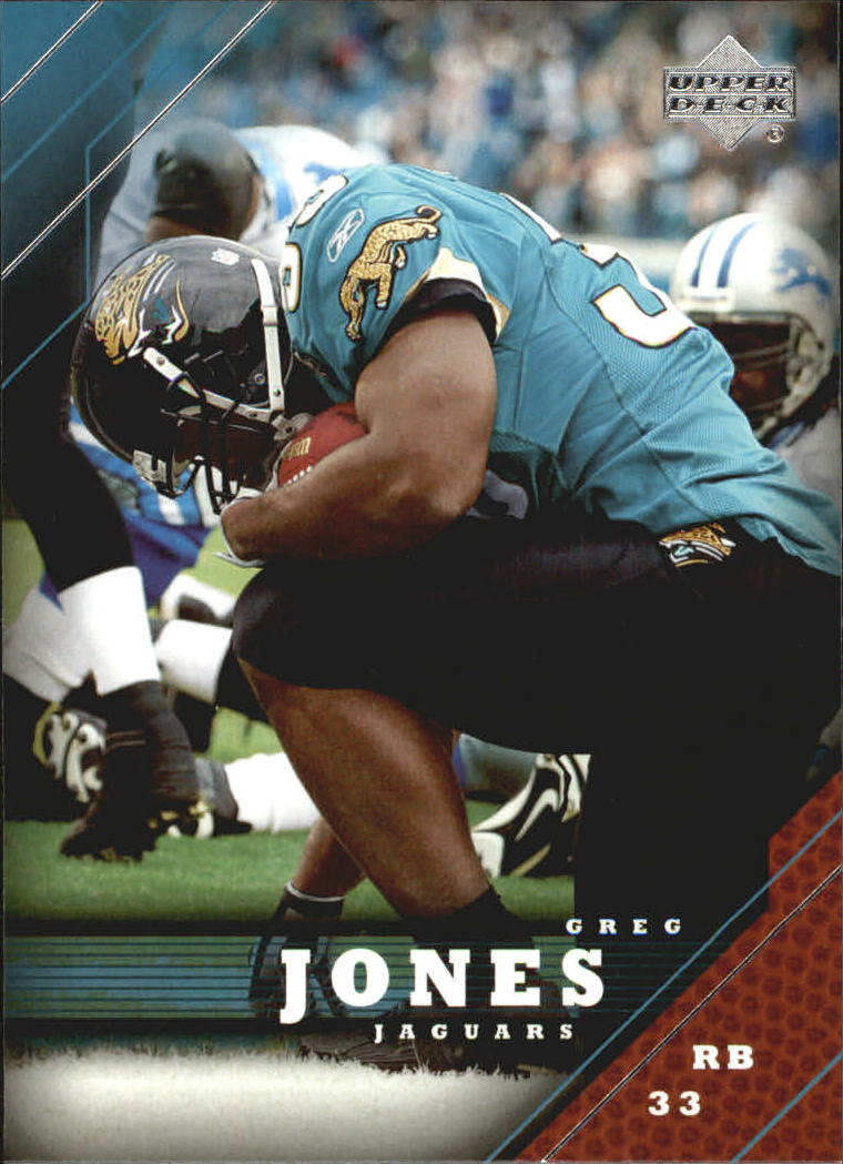 2005 Upper Deck #88 Greg Jones