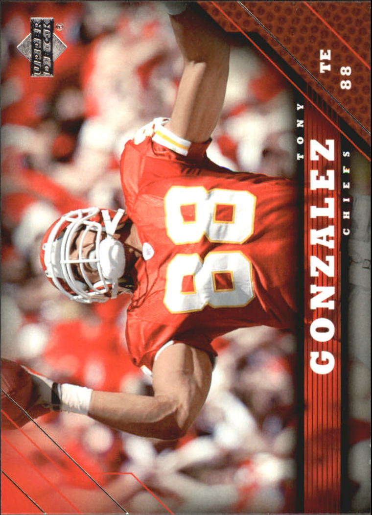 2005 Upper Deck #93 Tony Gonzalez