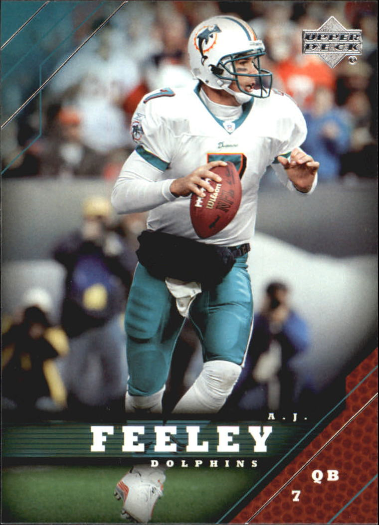 2005 Upper Deck #98 A.J. Feeley