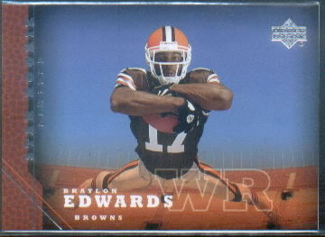 2005 Upper Deck #205 Braylon Edwards RC