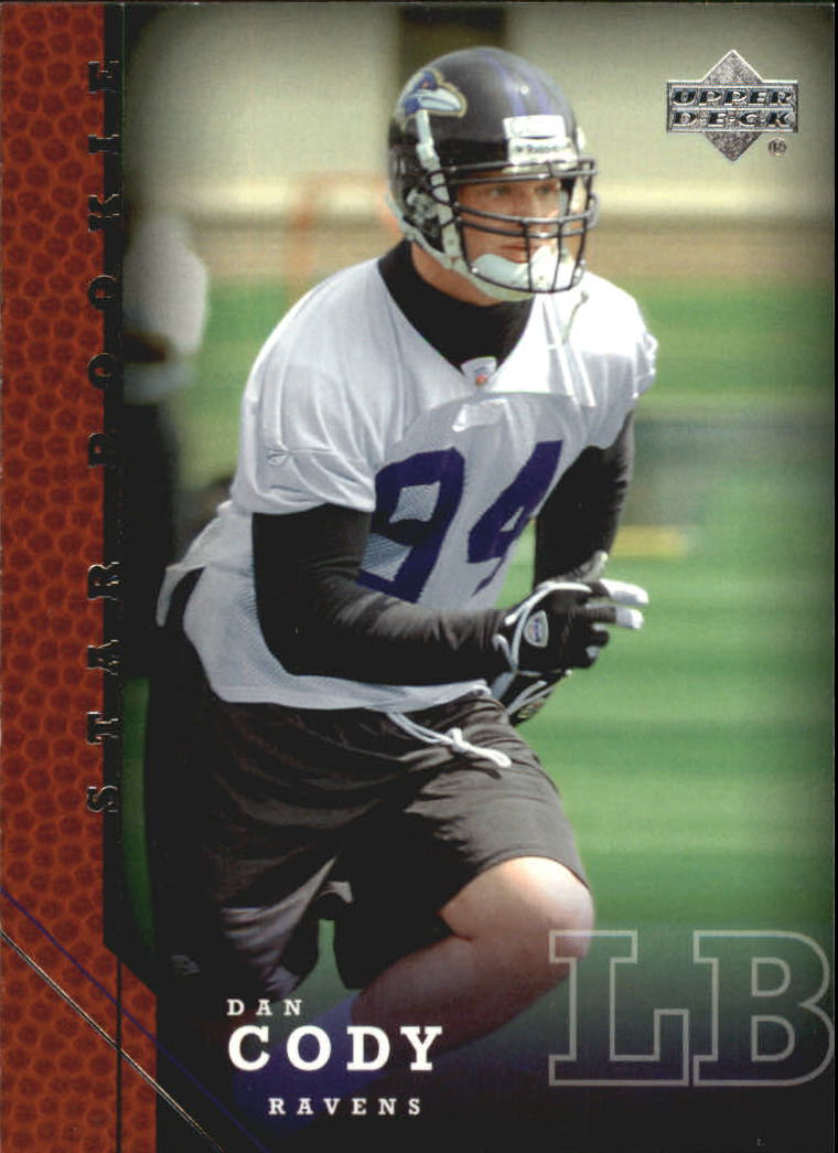2005 Upper Deck #228 Dan Cody RC