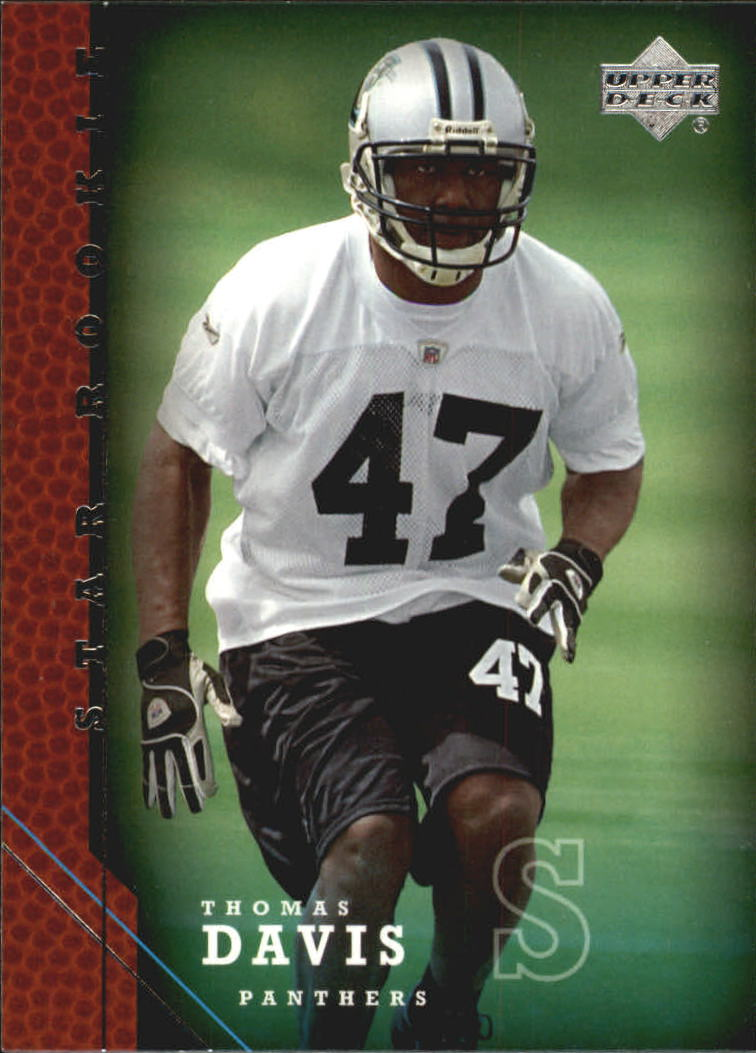 2005 Upper Deck #229 Thomas Davis RC