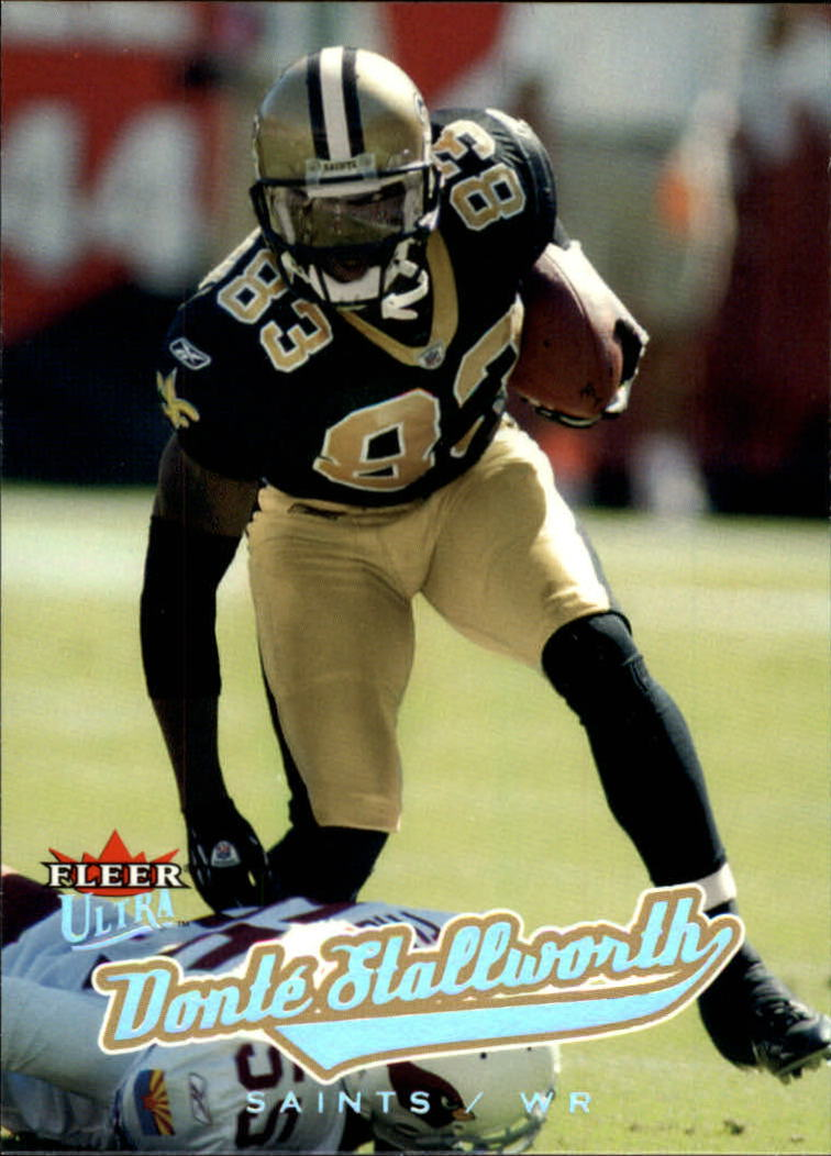 2005 Ultra #8 Donte Stallworth